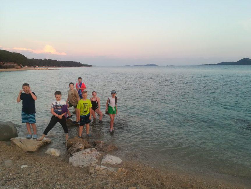 Zabawa na wyspie Vrgada